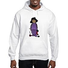 Baby Grrl Knitter Hoodie