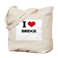 I Love Bridge Tote Bag