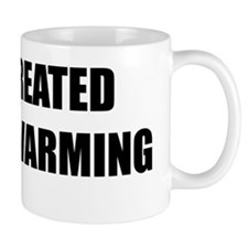 God created global warming Mug