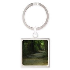 Path Square Keychain