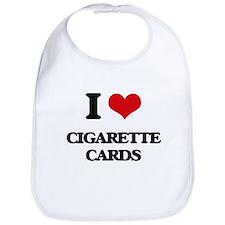 I Love Cigarette Cards Bib