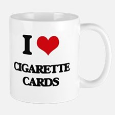 I Love Cigarette Cards Mugs