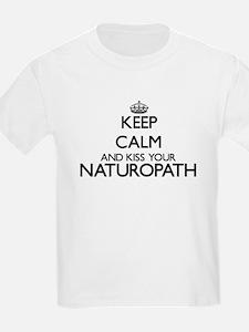 Keep calm and kiss your Naturopath T-Shirt