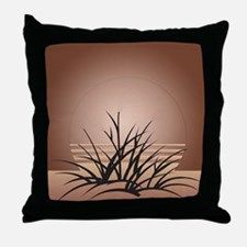 Art Deco Sand Dune Throw Pillow