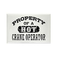 Property of a Hot Crane Operator Rectangle Magnet