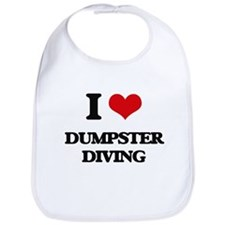 I Love Dumpster Diving Bib