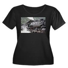 Steam engine: Colorado 3 Plus Size T-Shirt
