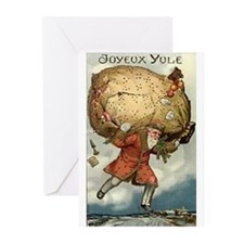 Antique French Greeting Cards (Pk of 10)