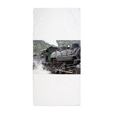Steam engine locomotive: Colorado 3 Beach Towel