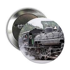 """Steam engine locomotive: C 2.25"""" Button (100 pack)"""