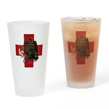 Army Cross Drinking Glass
