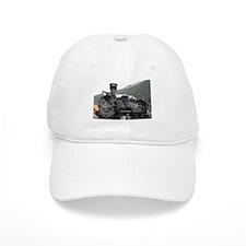 Steam train engine, Silverton, Colorado, USA 7 Baseball Cap