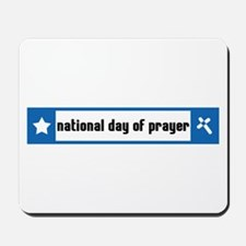 National Day of Prayer Mousepad
