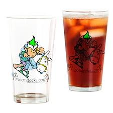Elf & Jingle Horse Drinking Glass