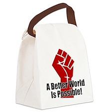Better World Canvas Lunch Bag