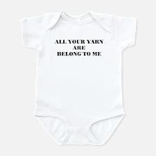 yarn Infant Creeper