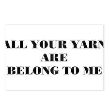 yarn Postcards (Package of 8)