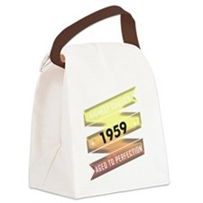 Highest Quality 1959 Aged To Perf Canvas Lunch Bag