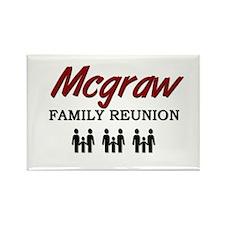 Mcgraw Family Reunion Rectangle Magnet