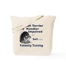 Rat Terrier Agility Tote Bag
