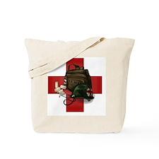 Army Cross Tote Bag