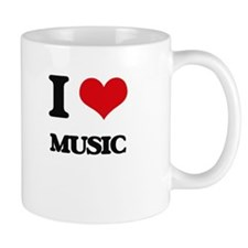 I Love Music Mugs