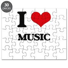 I Love Music Puzzle