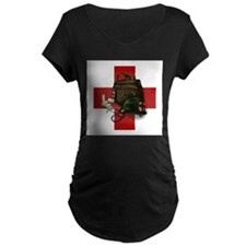 Army Cross Maternity T-Shirt