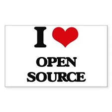 I Love Open Source Decal