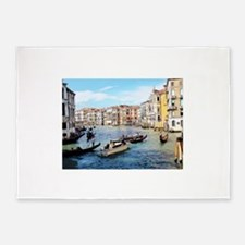 Venetian Traffic Jam 5'x7'Area Rug