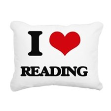 Cute Free to read Rectangular Canvas Pillow
