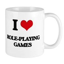 I Love Role-Playing Games Mugs