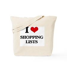 Unique Grocery list Tote Bag