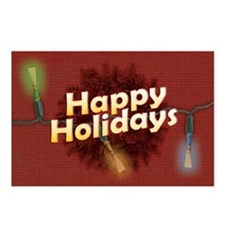 Holiday Bassoon Reed Postcards (Package of 8)