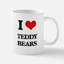 I Love Teddy Bears Mugs