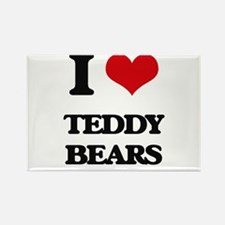 I Love Teddy Bears Magnets