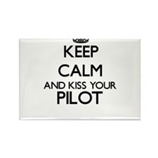 Keep calm and kiss your Pilot Magnets