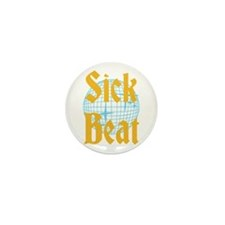 Sick Beat Mini Button (10 pack)