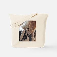 Borzoi Puppy Love Tote Bag