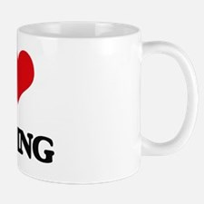 Funny Love to craft Mug