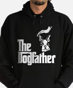 Unique Dogs boston terrier Hoodie (dark)