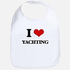 I Love Yachting Bib