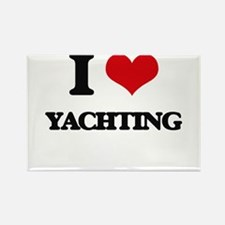I Love Yachting Magnets