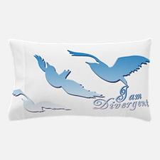 I am Divergent SkyBlue Pillow Case