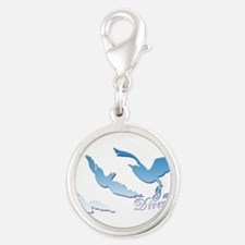 I am Divergent SkyBlue Charms