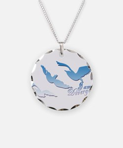 I am Divergent SkyBlue Necklace