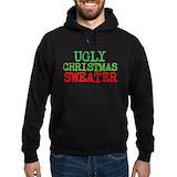 Ugly christmas Hoodie (dark)