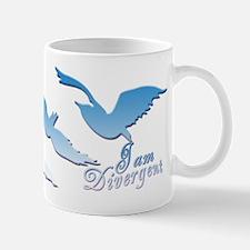 I am Divergent SkyBlue Mugs