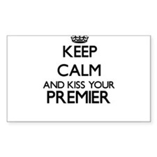 Keep calm and kiss your Premier Decal