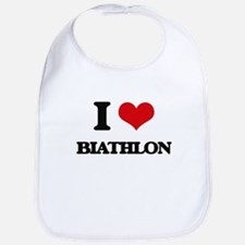I Love Biathlon Bib